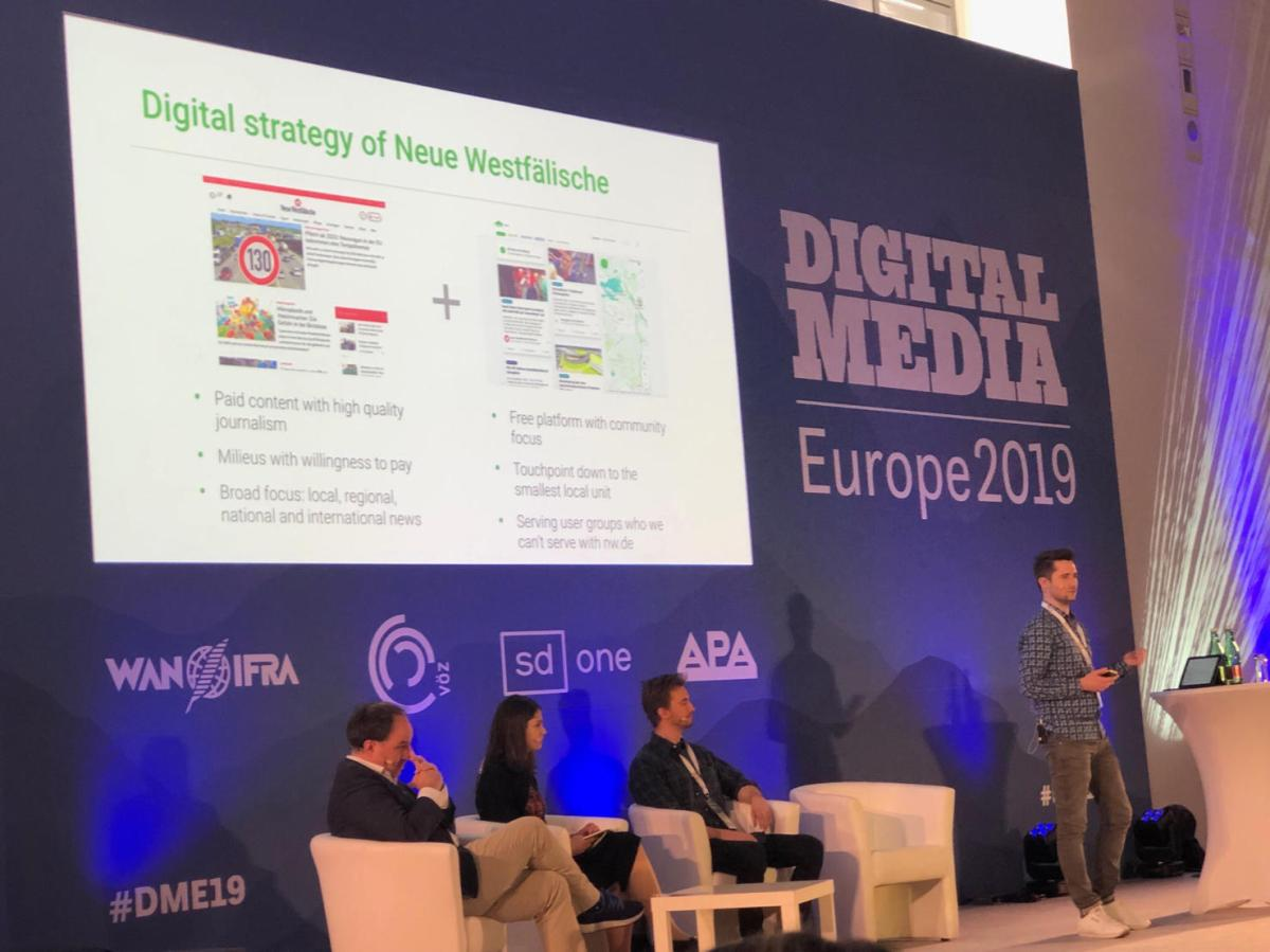 We just pitched at Digital Media Europe